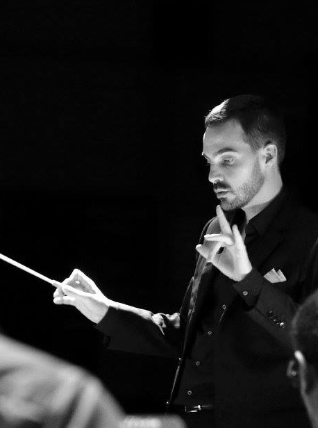Emmanuel Descol, chef d'orchestre du Brass Bande de Haute-Bretagne - BBHB